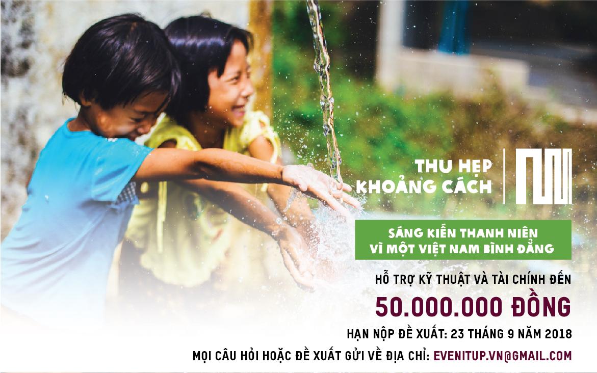 Sáng kiến thanh niên Thu hẹp khoảng cách vì một Việt Nam bình đẳng